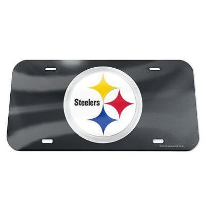 Mirror License Plate Pittsburgh Steelers