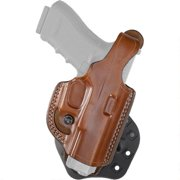 Aker Leather H268TPRU-SS320 Tan RH Paddle XR19 Open Top Holster Sig P320