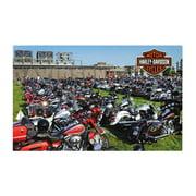 Harley-Davidson® Jigsaw Puzzle Collector's Edition, H-D Bike Lot, 21 x 33.5 6033