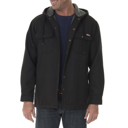 Genuine Dickies Men's Polar Lined Shirt Jacket