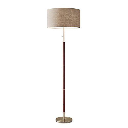 "65.5"" Hamilton Floor Lamp Brown - Adesso"