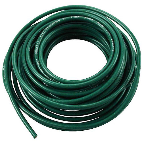 JT&T Products 3185F 18 AWG Green 1015 Motor Wire, 18' Cut