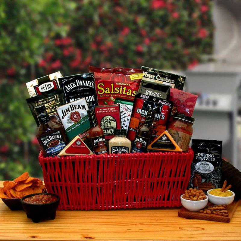 Jim & Jack Grillin BBQ Gift Basket