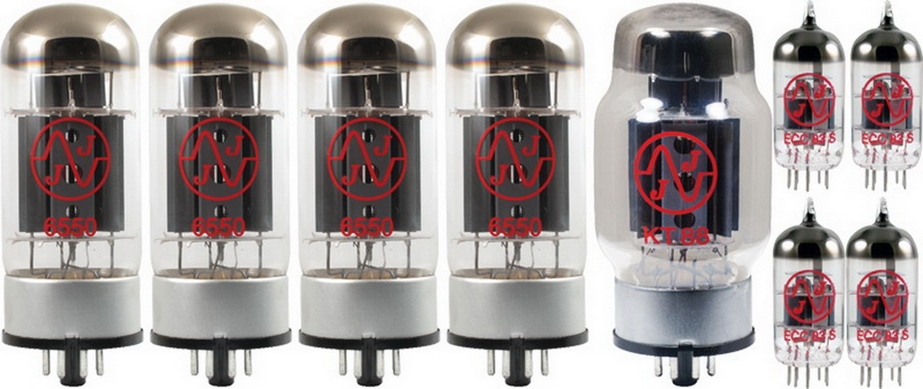 Tube Complement for Groove Tubes D-75 Studio by