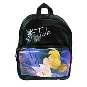 Disney Fairies Tinkerbell Black Mini Backpack