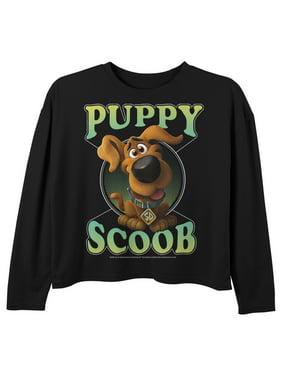 Scooby Doo Girls' Scoob! Puppy Circle Long Sleeve T-Shirt
