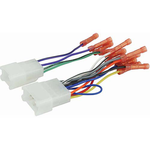 Scosche TA02BCB - 87-Up Toyota Power/Speaker Car Harness with Butt Connectors