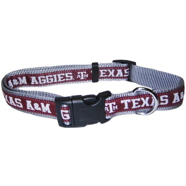 Texas A&M Aggies Pet Collar by Pets First - Small