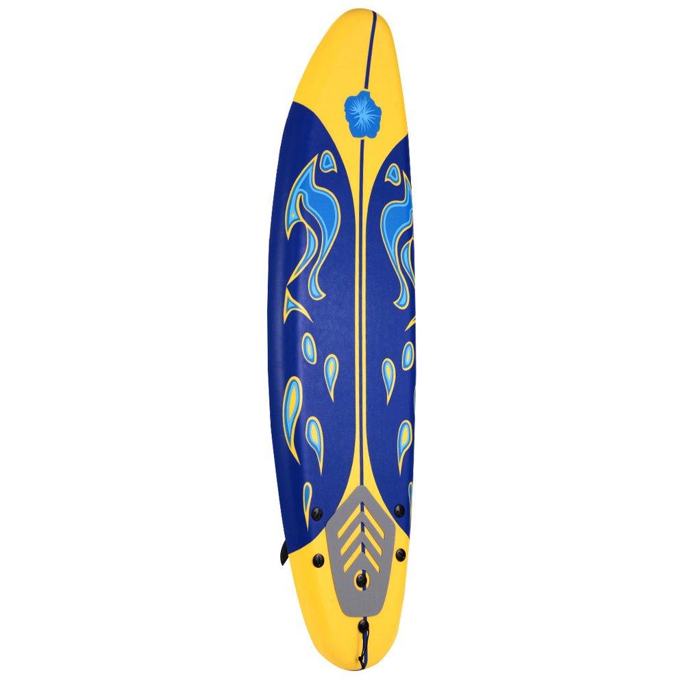 Costway 6' Surfboard Surf Foamie Boards Surfing Beach Ocean Body Boarding