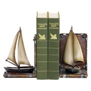 Sterling Sailboat Bookends