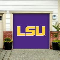 LSU Tigers 7' x 8' Single Garage Door Decor - No Size