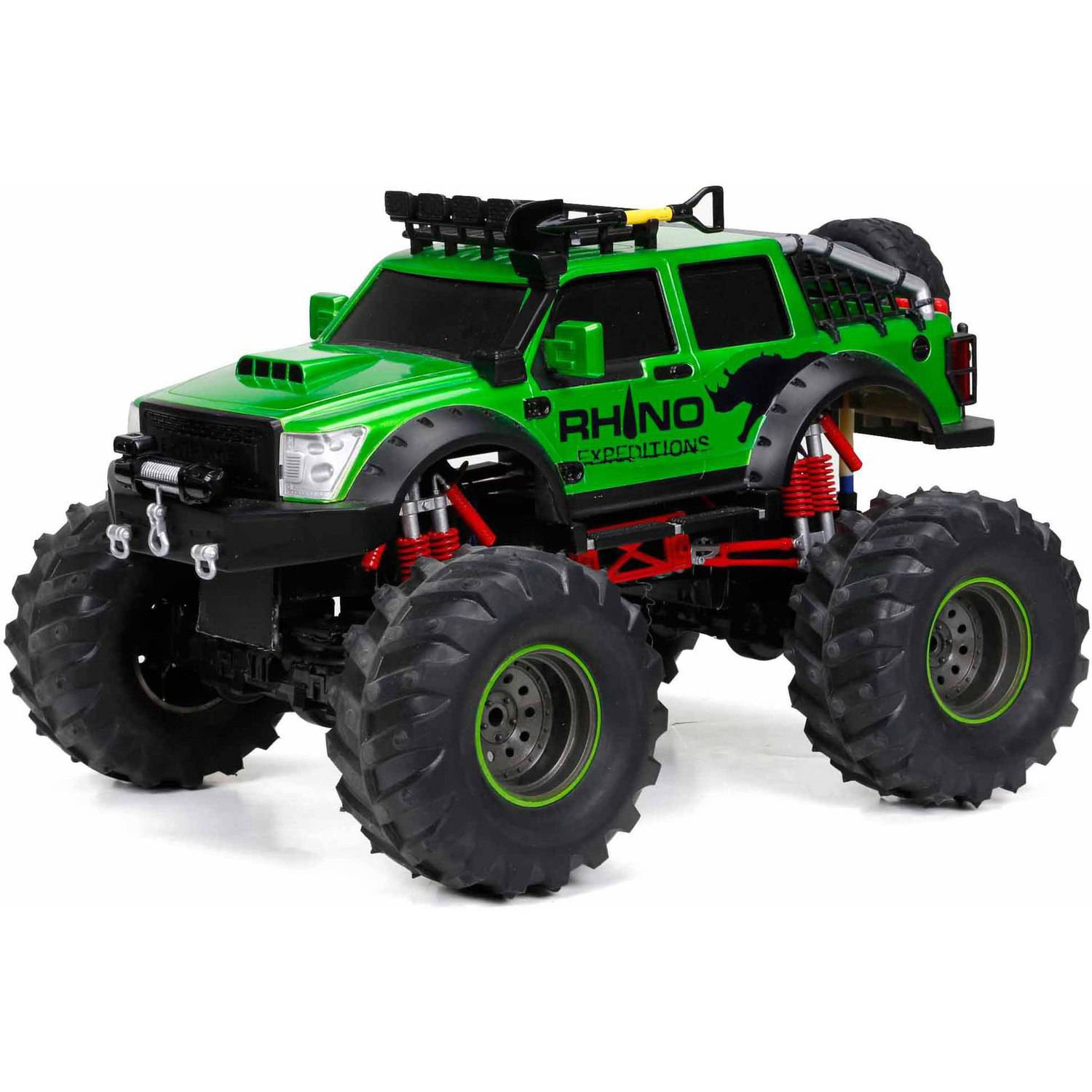 9.6V 4x4 Rhino Expeditions Full Function Radio-Controlled Vehicle, Green
