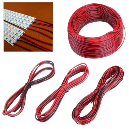 Single Wire Multiswitch (Minch 2 Pin 20M 0.35mm Extension Wire Connector Cord For 3528 5050 Single LED Strip Lights)