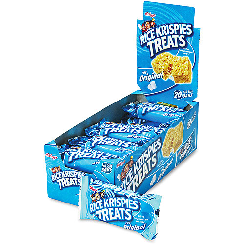 Kellogg's Rice Krispies Treats Single Serve Bar (20 Single Serve Pks)
