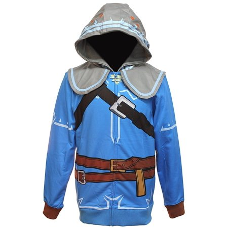 LEGEND OF ZELDA Breath of the Wild Cosplay Zip Up Hoodie - Zelda Hoodie