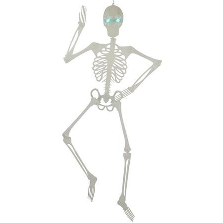 Glow In Dark Skeleton (Loftus Glow In The Dark Skeleton With Light Up Eyes 60