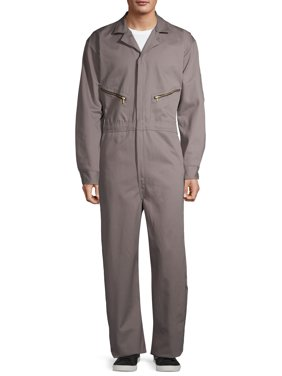Men's Zip-Front Cotton Coverall