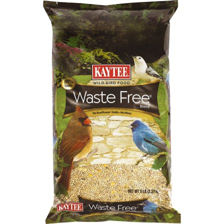Waste Free Bird Seed Blend, 5-PoundAnd because Kaycee Waste Free is a concentrated food, it lasts longer and feeders won't need to be filled as often By (Bird Seed That Deer Won T Eat)