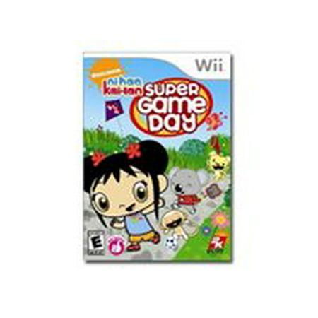 Ni Hao Kai-Lan Super Game Day - Wii - Ni Hao Kailan