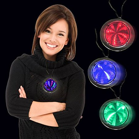 LED Infinity Fusion Necklaces - 12 Pack, By Windy City Novelties