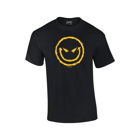 Evil Smiley Face, T-shirt (Evil Tee Shirts)