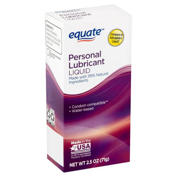Equate - Warming Liquid, Personal Lubricant, 2.5 OZ