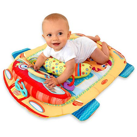 Bright Starts Tummy Cruiser Prop And Play Mat Walmart Com