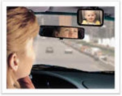 Baby On Board Front Or Back Baby View Mirror Clips To Visor For Forwar 2PK by Safety 1st%2Fdorel