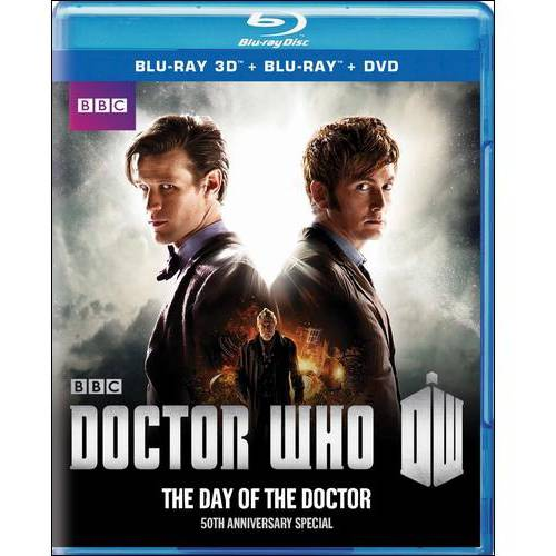 Doctor Who 50th Anniversary Special: The Day Of The Doctor (Blu-ray) (Anamorphic Widescreen)