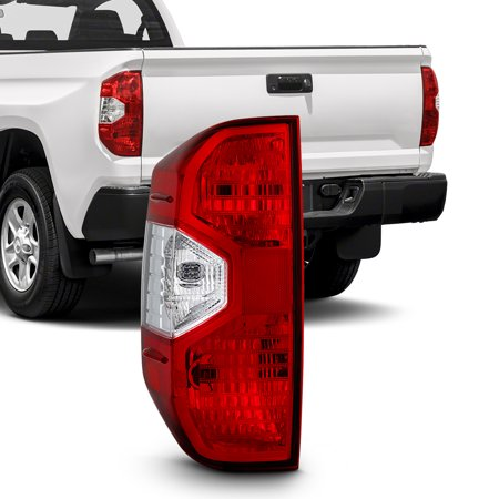 - Fits 2014-2016 2017 Toyota Tundra Driver Left Side Tail Light Lamp Replacement