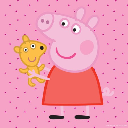 Marmont Hill Peppa And Her Puppy Peppa Pig Painting Print On Canvas