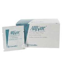 Skin Barrier Wipe AllKare Individual Packet 50 Count  4 Pack