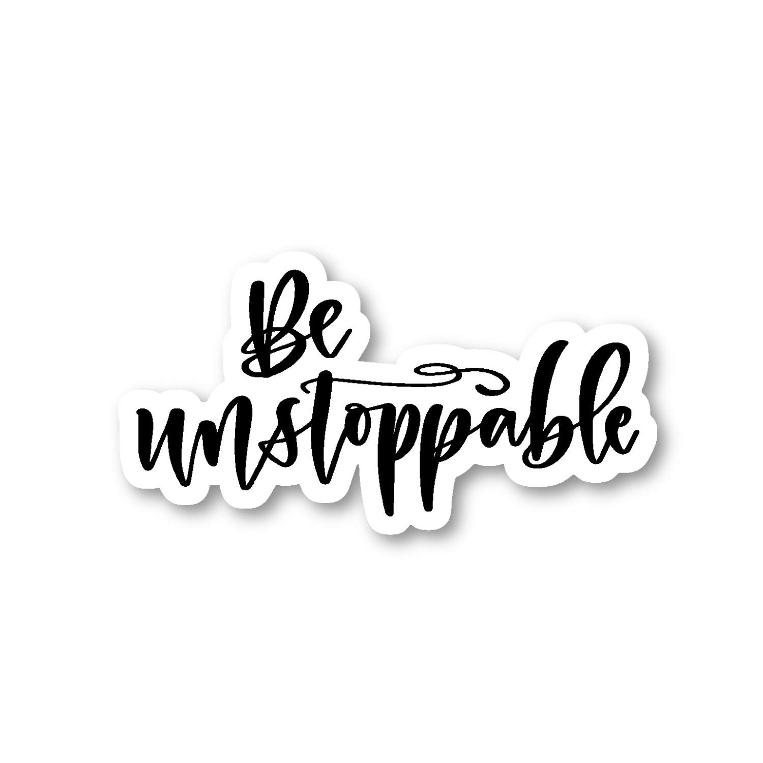 """2 Be Kind Inspirational Quote Sticker Decal 2.5/"""""""