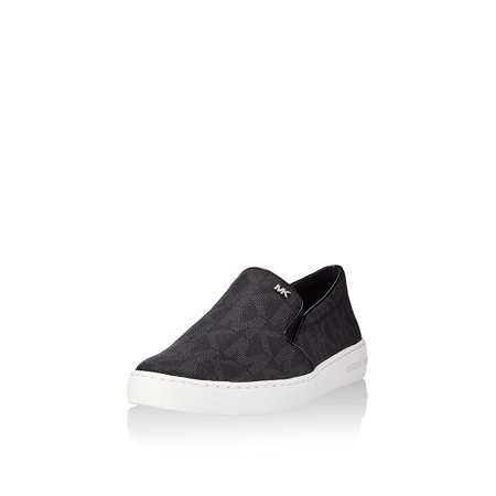 40b7c8d785fd0 Michael Kors - Michael Kors Women s Keaton Slip-On MK Signature Shoes-Black  - Walmart.com