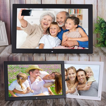 18.5 Inch Wide Screen 1366 * 768 High Resolution LED Digital Photo Frame Digital Album with Remote Control Motion Detection Sensor Support Audio Video Playing Clock Alarm Calendar Functions Support Mu - image 6 of 7