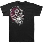 Korn Men's Checks T-shirt Small Black