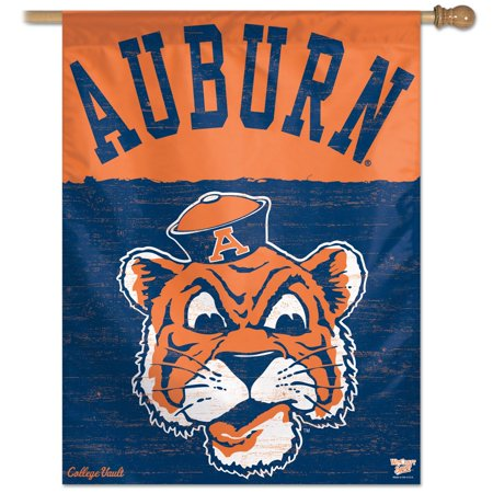 Ncaa Door Flag - Auburn Tigers Official NCAA 28 inch x 40 inch  Banner Flag by WinCraft