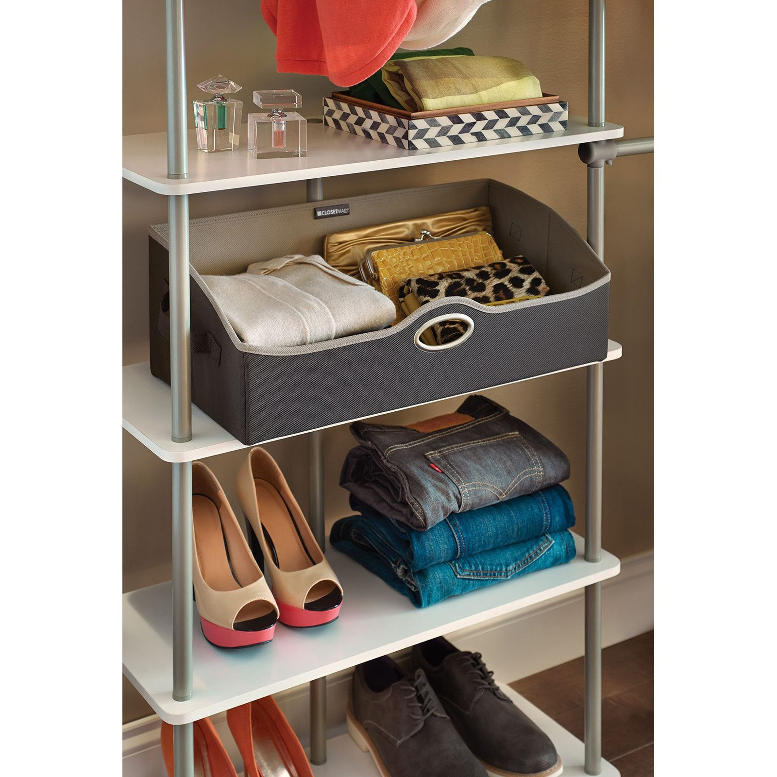 Click here to buy ClosetMaid Fabric Storage Bin Rectangle by ClosetMaid.