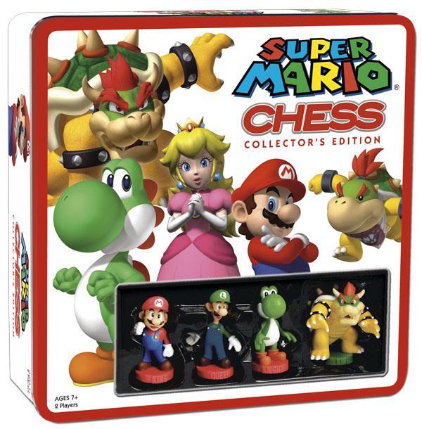 Board Game - Super Mario Chess With Mini Figures Board Game