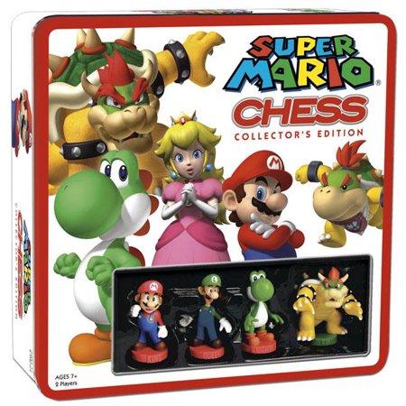 Board Game   Super Mario Chess With Mini Figures Board Game