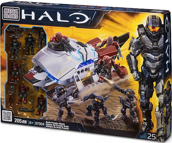 Mega Bloks Halo Brute Prowler Attack Exclusive Set #97004 by Generic
