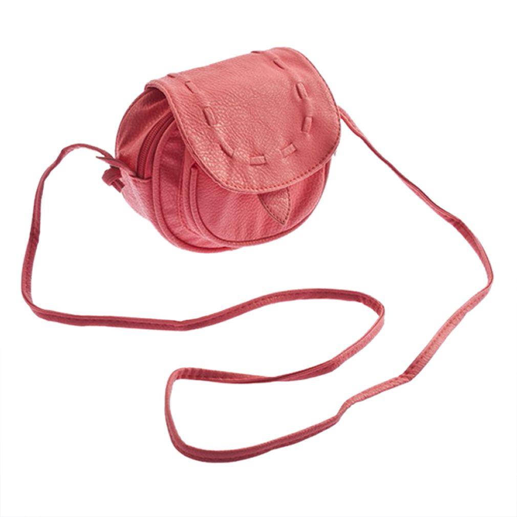 Lovely Cute Girl PU Leather Mini Small Adjustable Shoulder Bag Handbag Pouch