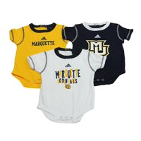 NCAA East Carolina Pirates Baby Clothing, University 3 Piece Creeper Bib Booties Gift Set, 24 Months
