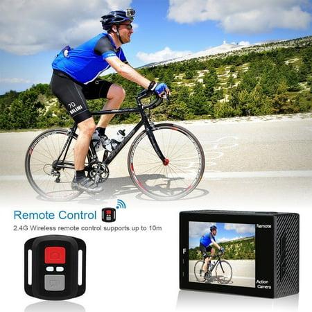 AKASO Brave 4 Sports Action Camera Ultra HD WiFi 4K 20MP Underwater Waterproof Sony Sensor Camcorder DV