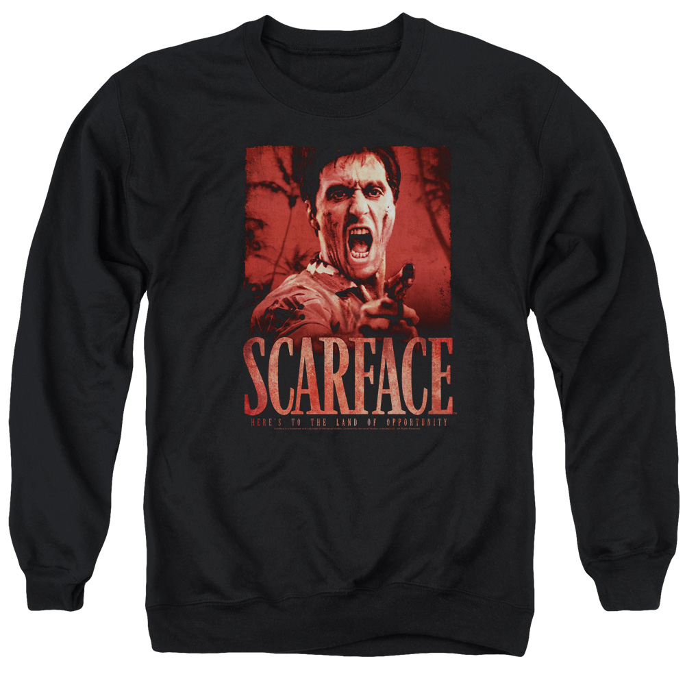 Scarface Opportunity Mens Crewneck Sweatshirt