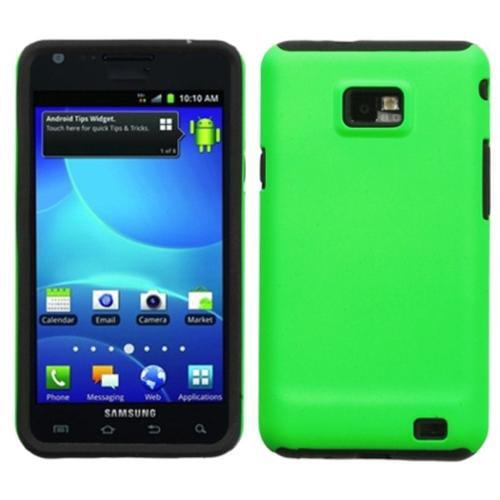 Insten Apple Green Fusion Case for SAMSUNG: I777 (Galaxy S II)
