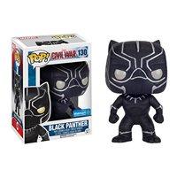 Funko Pop! Marvel Civil War #130 Black Panther Glitter exclusive