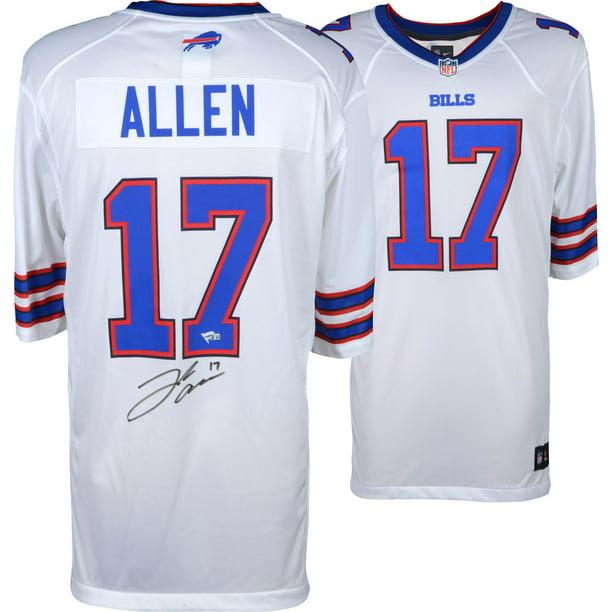 Josh Allen Buffalo Bills Autographed White Game Jersey - Fanatics Authentic Certified