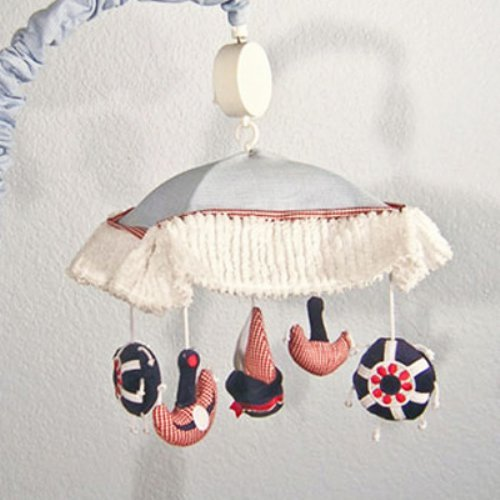 Brandee Danielle Sail Away Musical Crib Mobile
