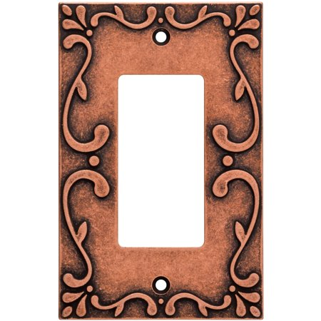 Franklin Brass Classic Lace Single Rocker Wall Plate